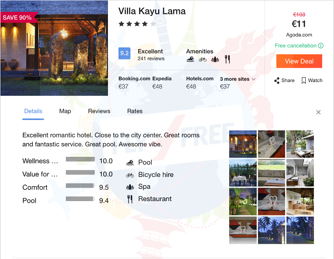 Deal Alert 4 Well Rated Hotel With Breakfasts In Bali For Only 11 Night