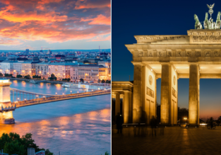 Cheap flights from Berlin to Budapest and vice-versa from only €17!
