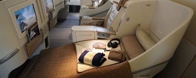 X-mas and New Year: Cheap Business Class flights from Munich to Asia or Africa from €838!