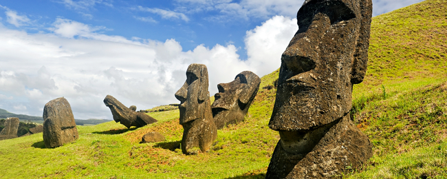 Cheap flights from multiple European cities to remote Easter Island from only €701!