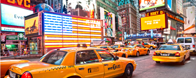 Dublin to New York for only €240!
