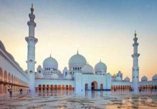 Cheap Turkish Airlines flights from Riga to Abu Dhabi, UAE for only €229!
