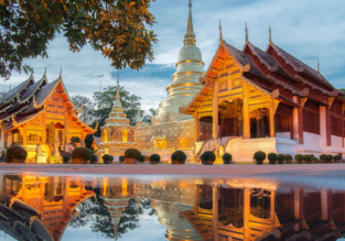 X-MAS & HIGH SEASON! Many European cities to Chiang Mai, Thailand from only €330!