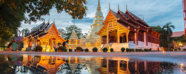 High season! 10 nights at top rated 4* hotel in Chiang Mai, Thailand + flights from London for £441!