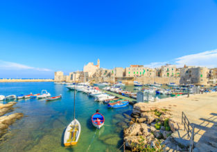 7 nights at beachfront B&B in Puglia, southern Italy + cheap flights from London for just £136!