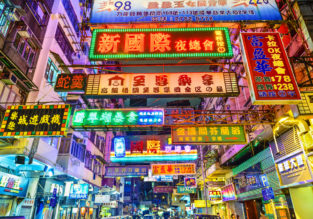 Cheap flights from Denmark or Italy to Hong Kong from only €289!