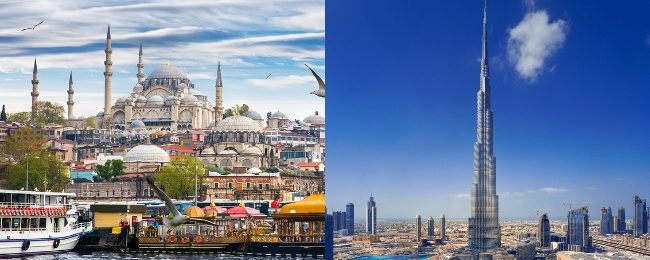 Turkey and Dubai in one trip from London from only £195!