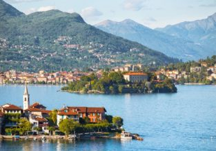 4-night stay at lake view apartment on enchanting Lake Maggiore + flights from Copenhagen for just €133!