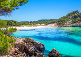 Summer! Cheap flights from many UK cities to Menorca from only £48!