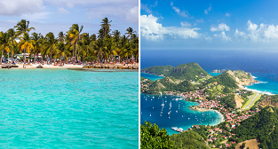 New York, Martinique, Guadeloupe and Paris in one trip from London for only £460!