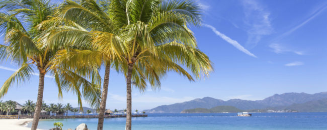 8-night B&B stay at beachfront 4* hotel in Nha Trang, Vietnam + flights from Amsterdam for €467!