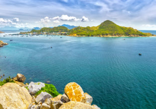 8-night stay at well-rated hotel in beautiful Nha Trang + flights from Kuala Lumpur for $133!