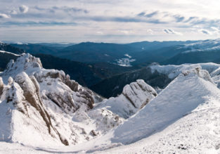 Long weekend in Transylvania's ski area + car hire + cheap flights from London for just £94!