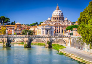Stay at a very well-rated & central 4* hotel in Rome for only €46/night! (€23/$27 pp)