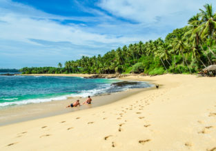 Sri Lanka luxury holiday! 11 nights in top-rated 5* beach resort + flights from Milan for €543!