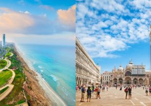 Fly from Venice to Tel Aviv from only €39 or vice-versa from $65!