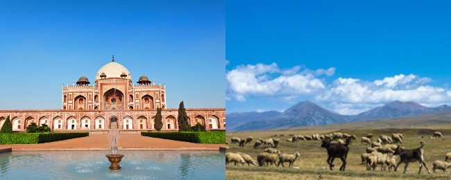Kazakhstan and India in one trip from Budapest from only €257!