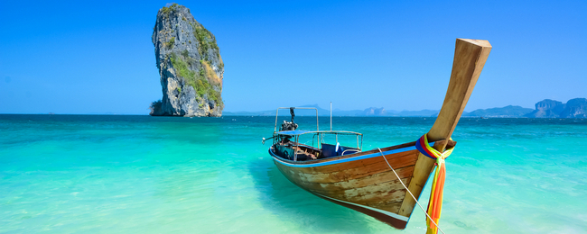 CHEAP! Non-stop flights from Norway to Krabi, Thailand from only €204!