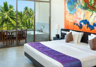 Deluxe room (50m²) at 5* luxury beach hotel & spa in Sri Lanka for €66! (€33/ $39 per person incl. breakfast)
