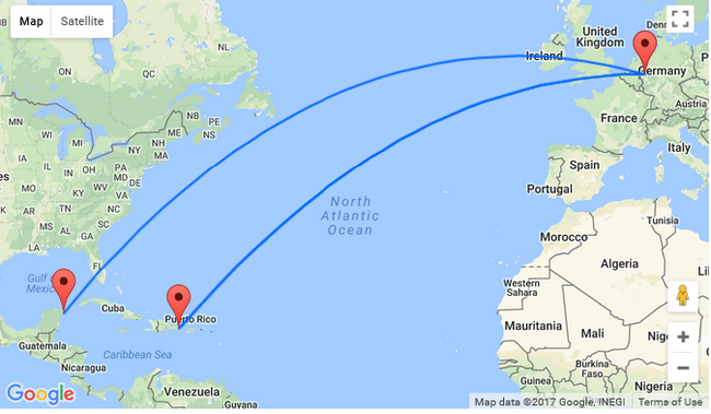 Hot Non Stop From Dusseldorf To Dominican Republic And Mexico For