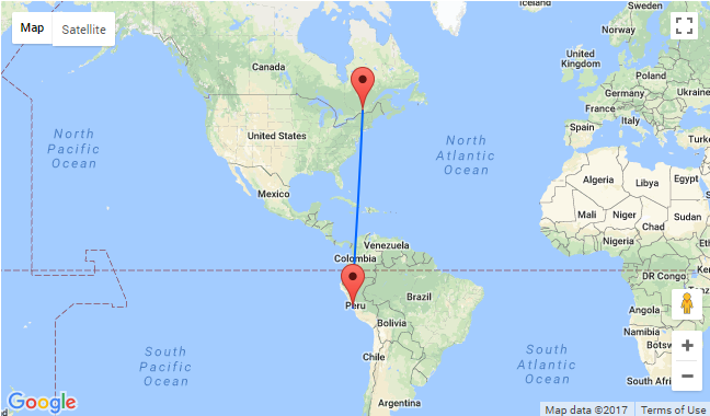 Cheap Non Stop From Montreal To Lima Peru For Only 411