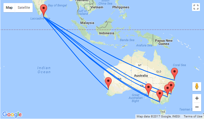 5* Singapore Airlines: AU cities to Sri Lanka from only AU$683!