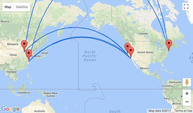 Beijing Or Shanghai To California Or New York From Only 369