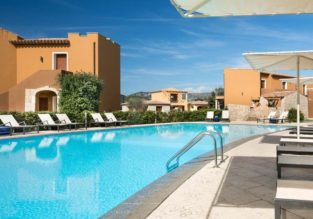 Double room at top rated 4* hotel & spa in Sardinia for only €42! (€21/ $24 per person)