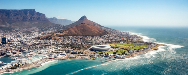 Cheap flights from UK or Vienna to Cape Town from only €413!