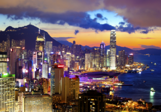 Cheap non-stop flights from California to Hong Kong for only $390!