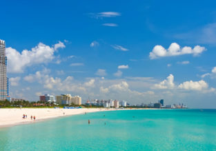 NYE! Cheap non-stop flights from New York to Miami or Fort Lauderdale from $111!