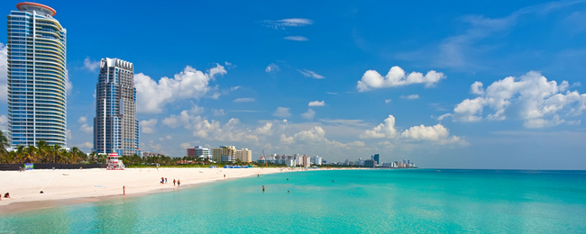 Non-stop flights from Brussels to Miami from only €296 (or vice versa for $347)!