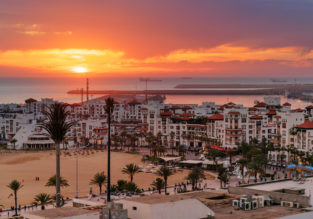 7-night stay at well-rated hotel in Agadir, Morocco + cheap flights from Manchester for £100!