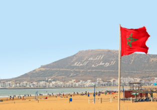 May! 7 nights at well rated hotel in Agadir + flights from London or Manchester for only £120!