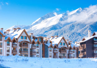Mountain break in Bulgaria! 4 nights at well-rated wellness hotel & spa + cheap flights from London for just £88!