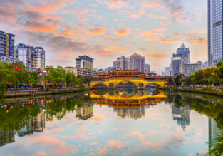 Discover China! Cheap flights from New York to Chengdu for just $439!