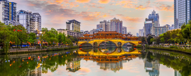 Cheap flights from Copenhagen to Chengdu, China for only €290!