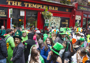 St. Patrick's Day! Non-stop from New York to Dublin for only $397!