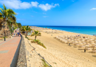 9-night stay in well-rated aparthotel on Fuerteventura + flights from London for just £172!