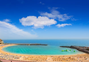 Spring week on Gran Canaria! Stay at well-rated & beachfront resort + cheap flights from UK from just £129!