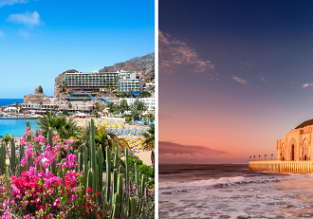 2 in 1: New York to both Canary Islands & Morocco for only $461!