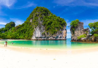 Cheap peak season flights from Bangkok to Phuket or Krabi from only $25!