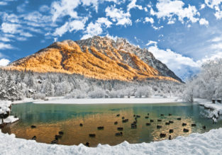 Spring break on Slovenian mountains! 7 nights at top-rated aparthotel + cheap flights from London for £173!