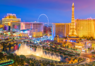 Cheap flights from Scandinavia to Las Vegas from only €234!