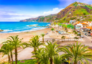 7-night B&B stay at sea view hotel on Madeira + flights from Switzerland for just €122!