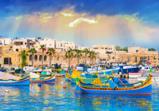 4-night stay in well-rated apartment in Malta + cheap flights from Spain from just €50!