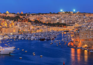 7-night stay at well-rated hotel in Malta + cheap flights from the Netherlands for just €92!