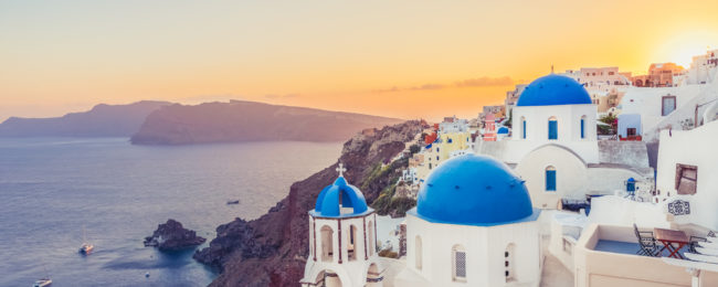Santorini Escape 7 Nights At Top Rated Hotel Flights From Vienna