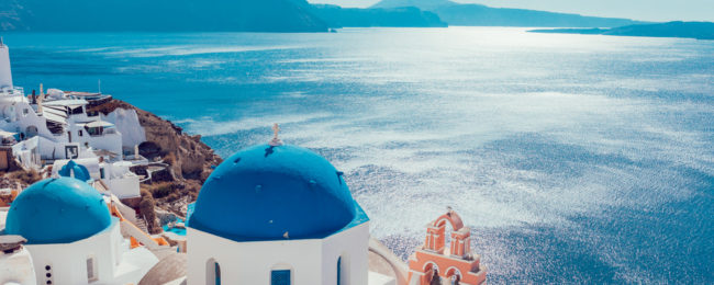 Brussels To Magical Greek Islands Of Santorini And Mykonos