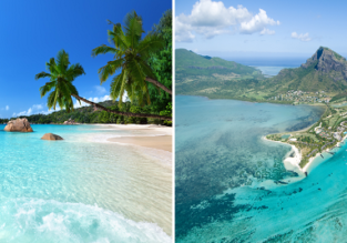 Exotic 2 in 1: Mauritius & Seychelles from Mumbai for only $594!